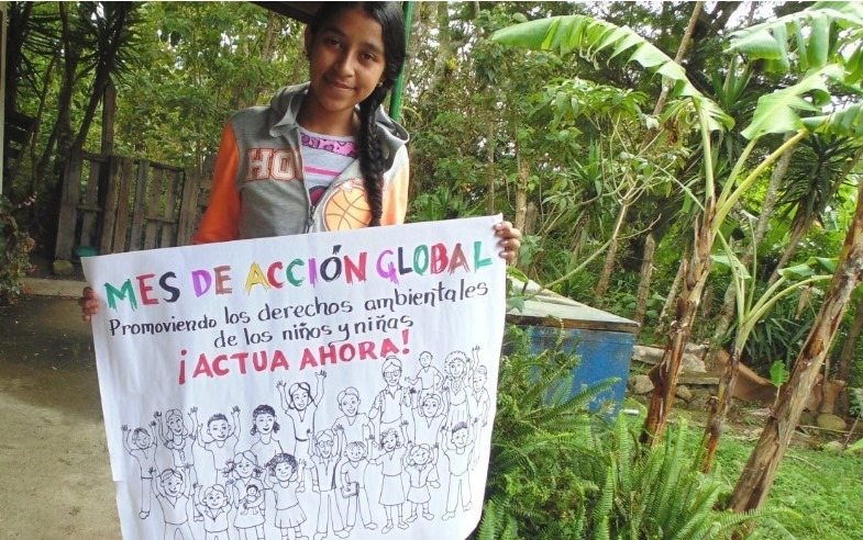 November Global month of action, promoting the rights of girls and boys